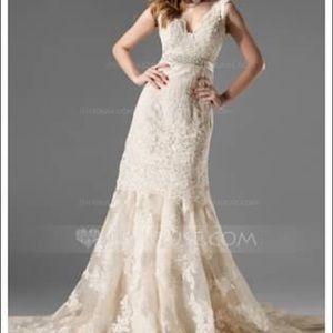 Wedding dress-never worn